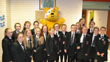 Visit from Pudsey