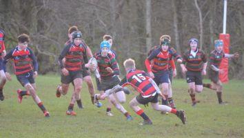 Rugby v Lurgan