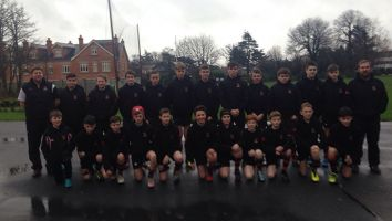 Junior Rugby Tour to Dublin 2015